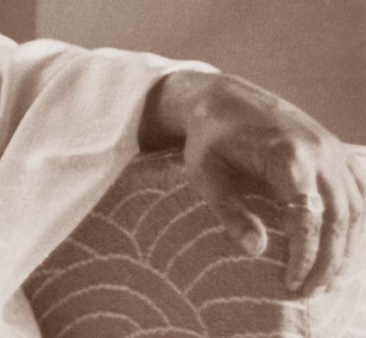 Sri Aurobindo's Hand