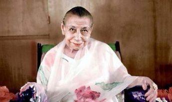 The Mother Miraa Alfassa of Sri Aurobindo Ashram