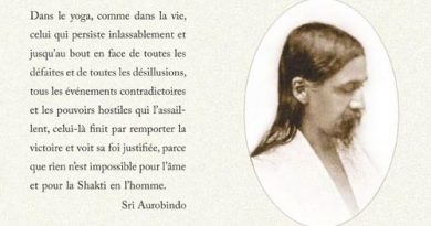 Sri Aurobindo Darshan Message