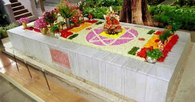 Samadhi of Sri Aurobindo and The Mother