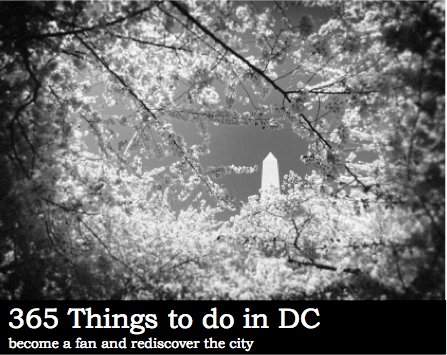 365 Things To Do In DC Logo