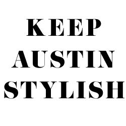 Keep Austin Stylish Logo