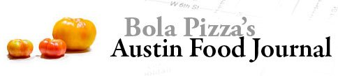 Austin Food Journal Logo