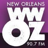 WWOZ 90.7 FM New Orleans Logo