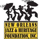 New Orleans Jazz & Heritage Foundation Logo