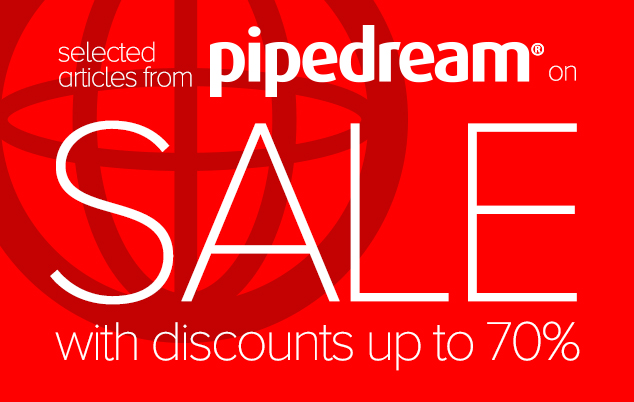 UP TO 70% DISCOUNT ON PIPEDREAM SALE ITEMS