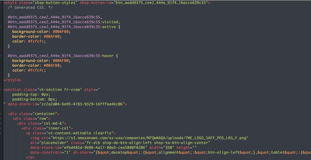 Customise HTML | CRM & Marketing Automation