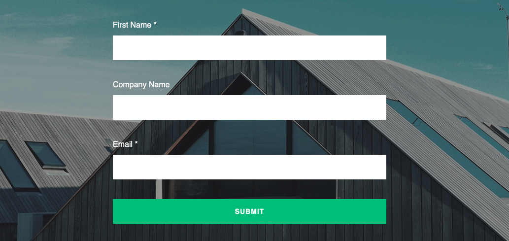 Forms Landing Page | CRM & Marketing Automation