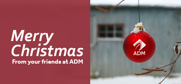 Merry Christmas from your friends at ADM