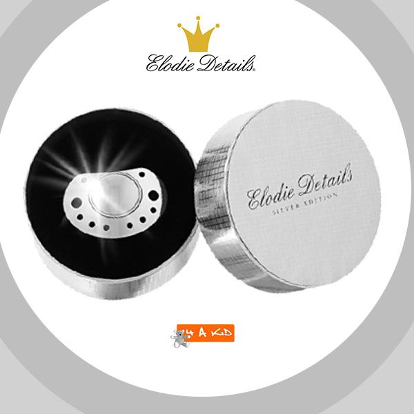 elodie pacifier grey