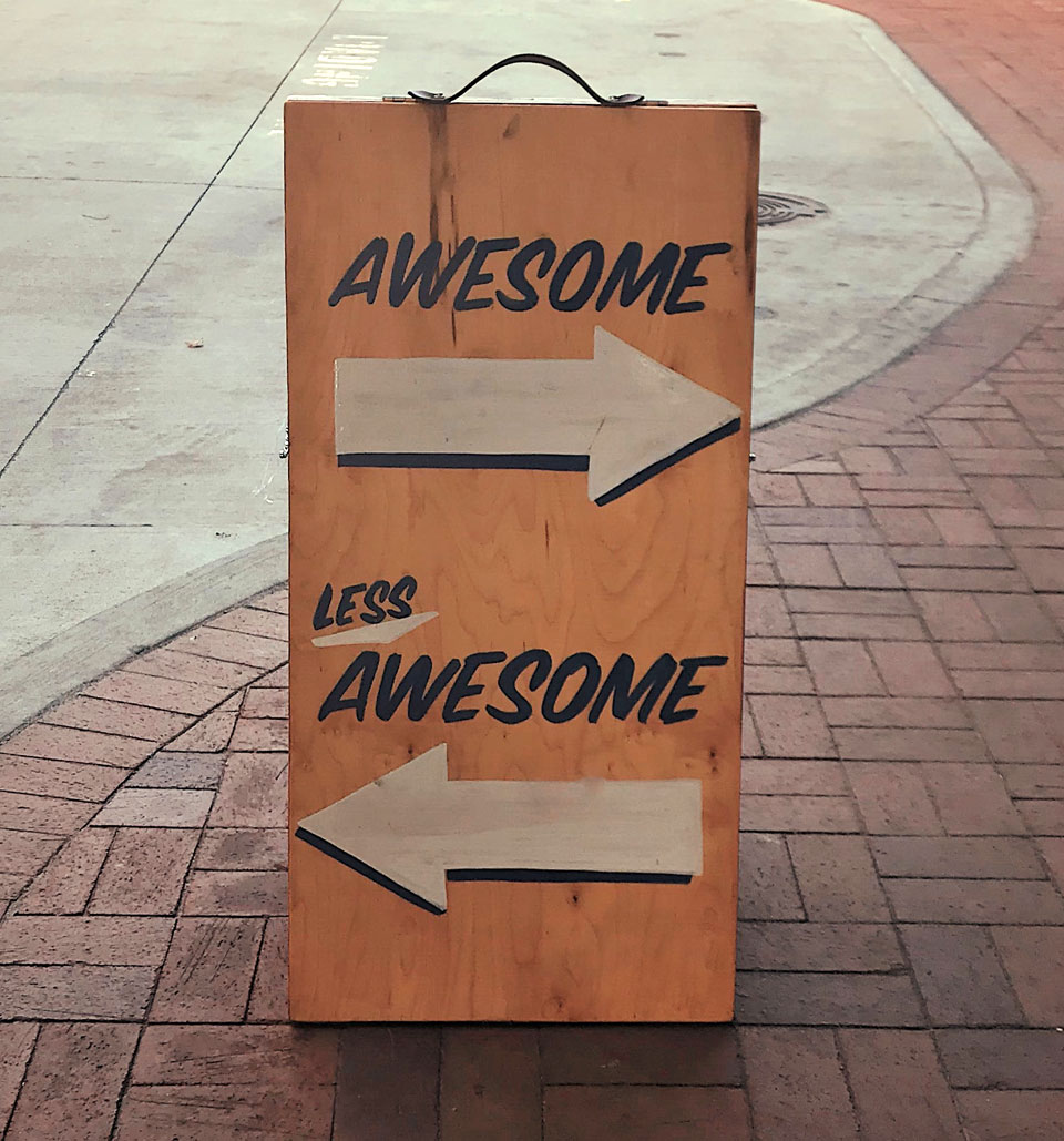 Awesome - Less Awesome