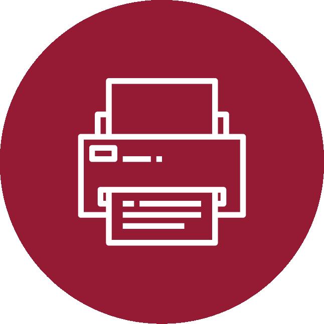 Ícone impressora