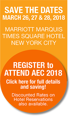 Register Now to Attend AEC 2018