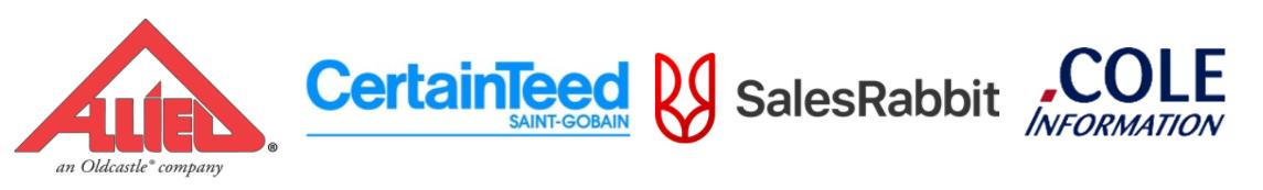 Event sponsor logos.