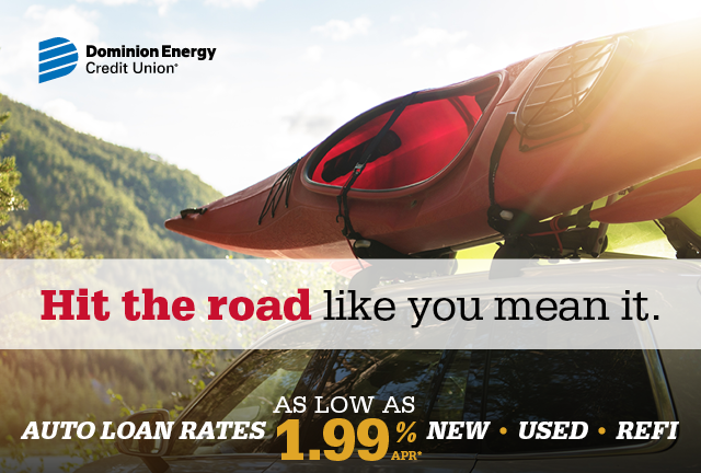 Hit the road like you mean it. Auto loan rates as low as 1.99% APR New Used Refi