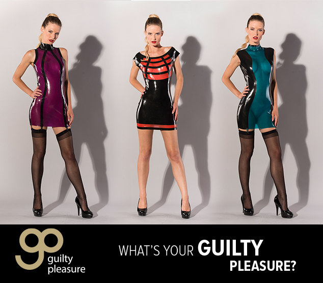 NEW Guilty Pleasure LATEX dresses!
