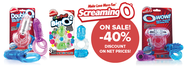 The Screaming O – on sale