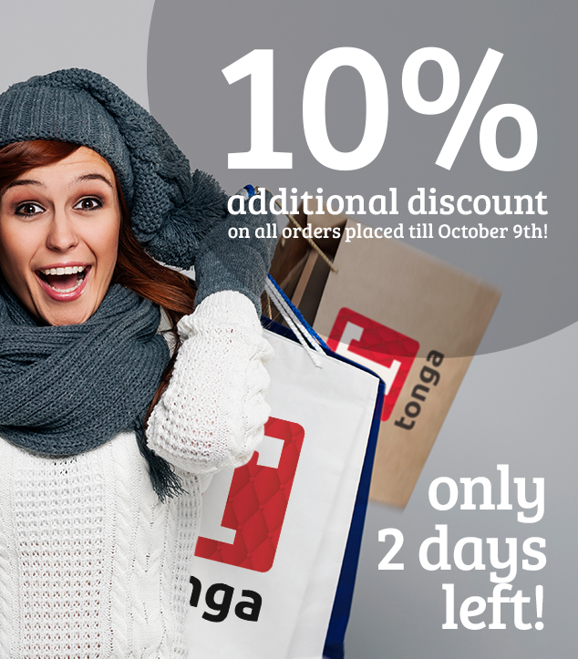 2 days left additional discount