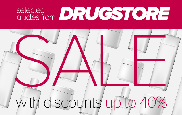 DRUGSTORE SALE