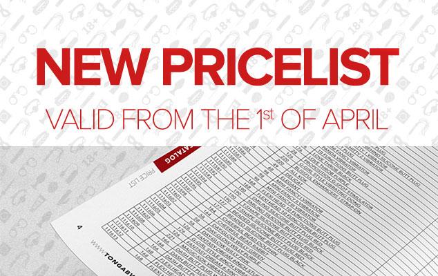 New pricelist