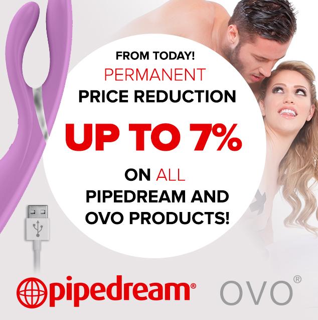 Price reduction Pipedream & OVO