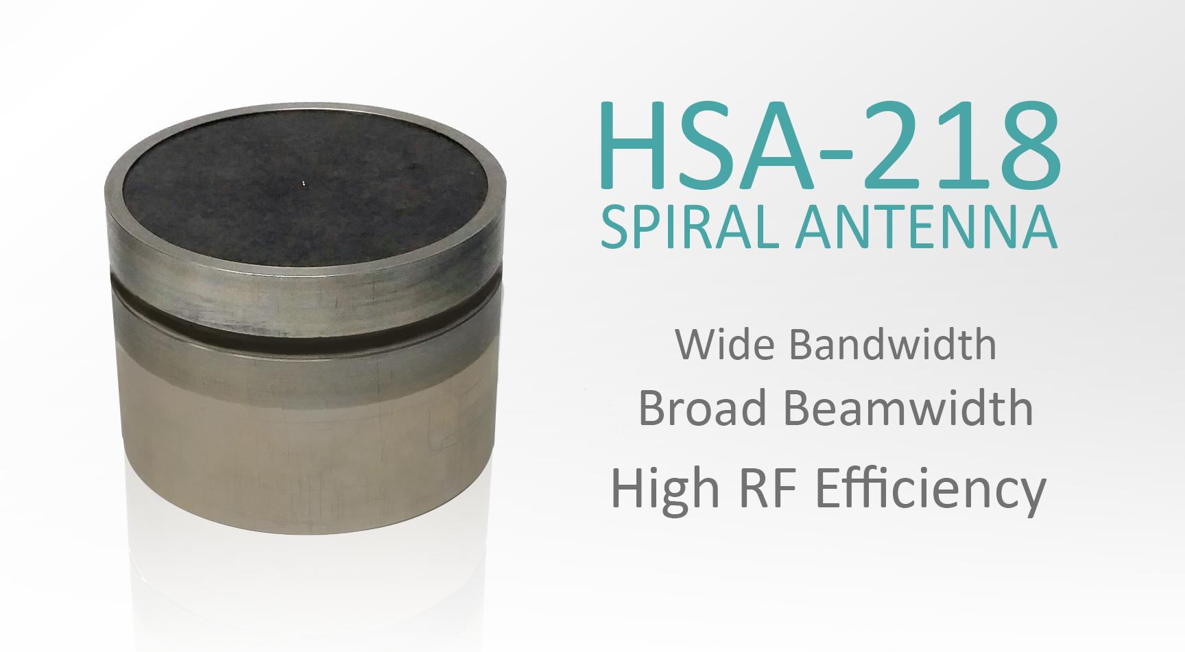 HSA-218 Compact Spiral Antenna
