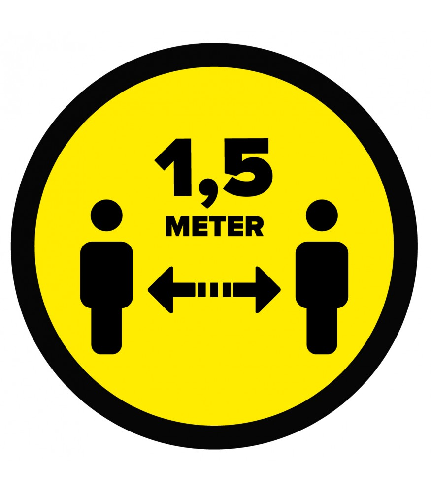 1.5 meters