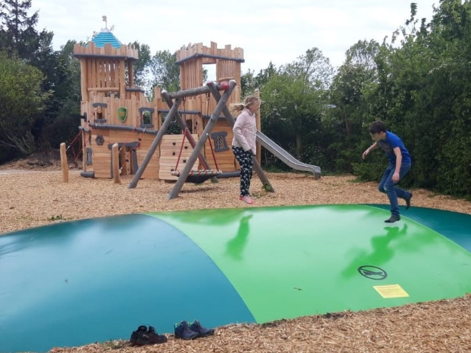 Air-trampoline