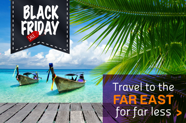 Black Friday Deals to the Far East
