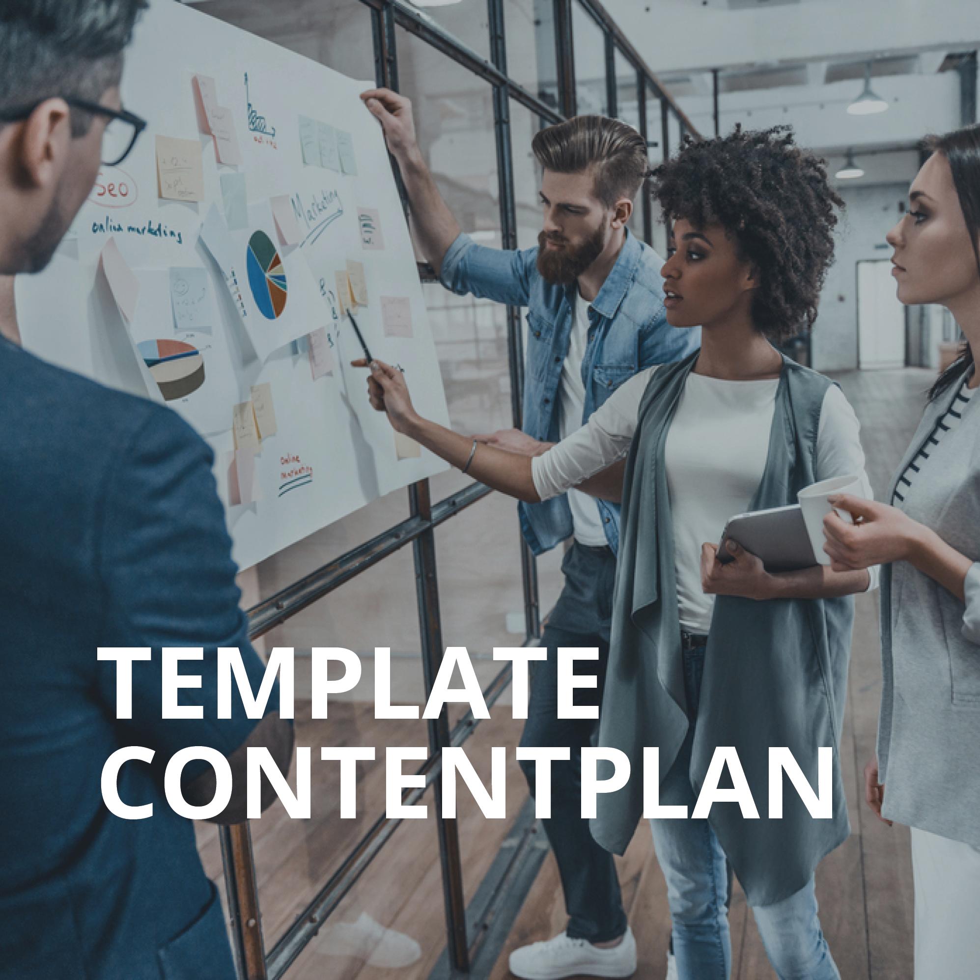 Template Contentplan
