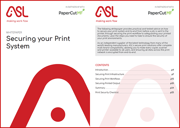 Securing your Print System