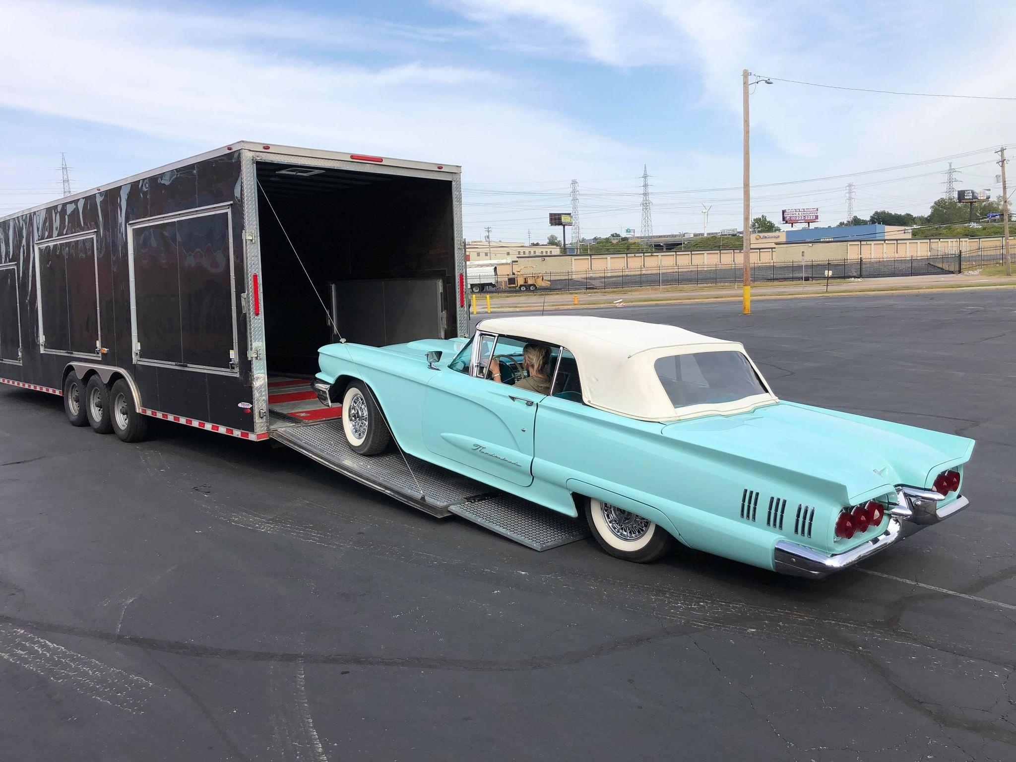 1960 Ford Thunderbird sold