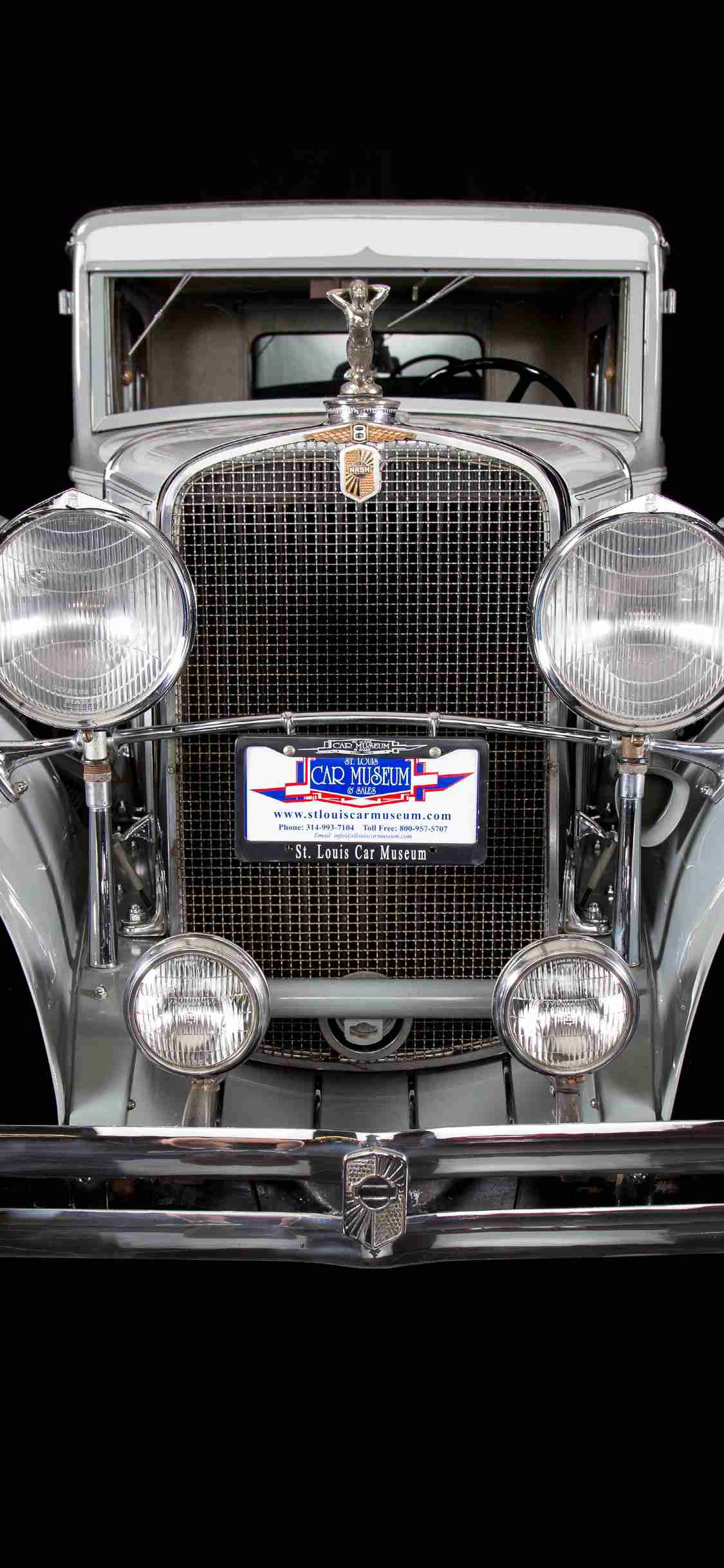 1931 Nash Eight-99 Victoria Sedan wallpaper free download