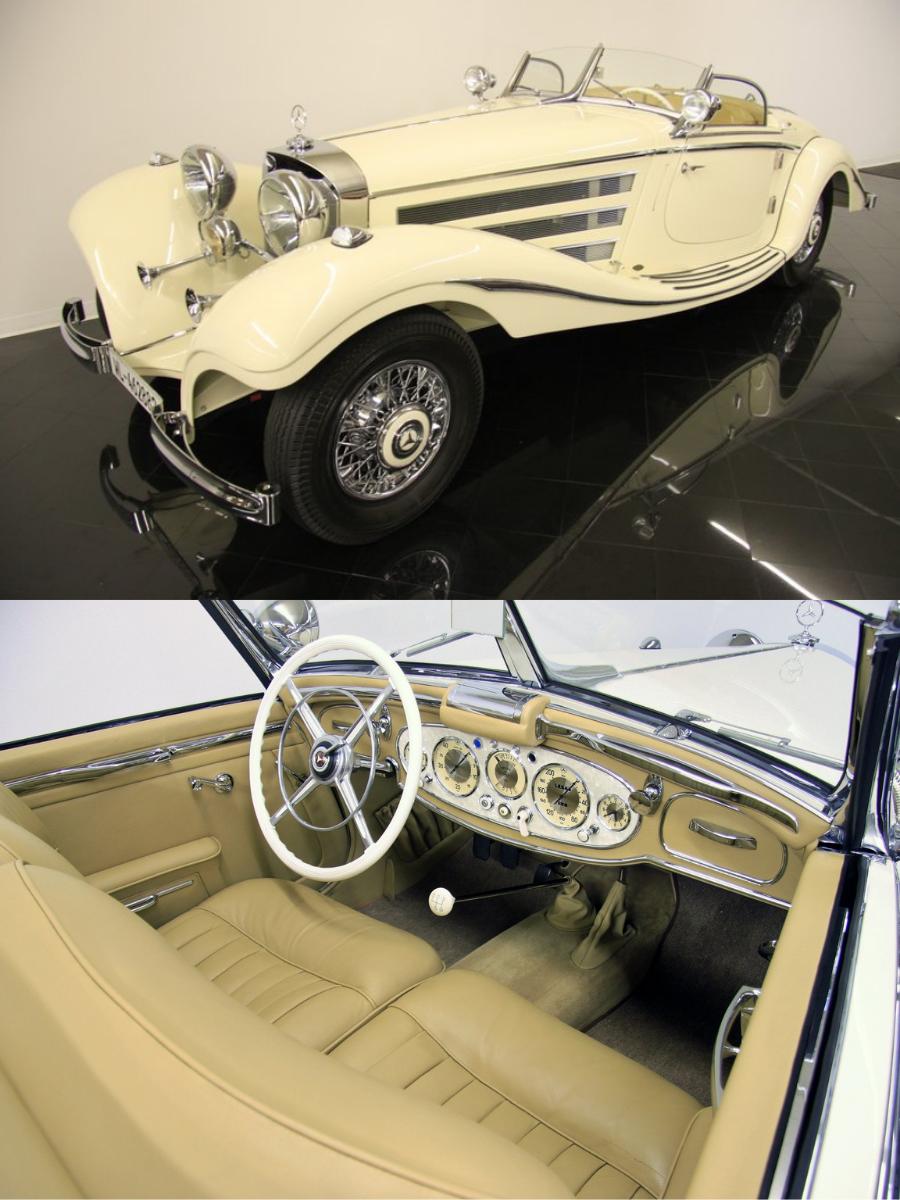 1935 Mercedes Benz 500k Special Roadster