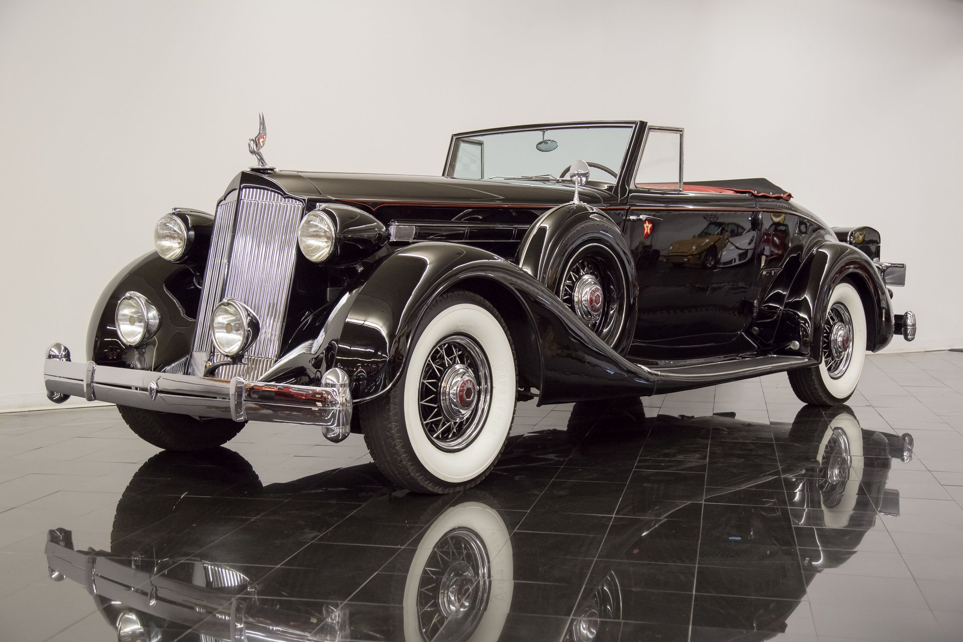 1936 Packard Twelve 1407 Coupe Roadster For Sale