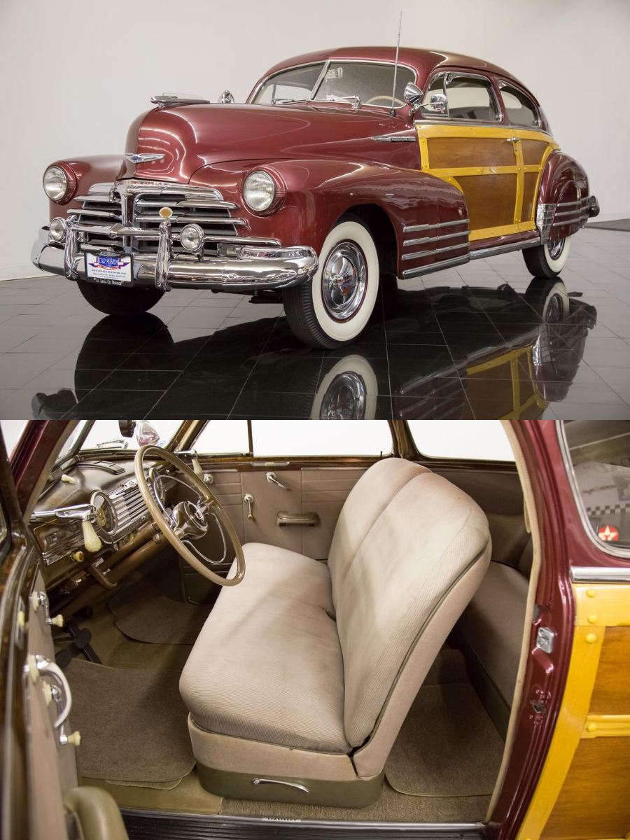 1948 Chevrolet Fleetline Aerosedan Sedan sold
