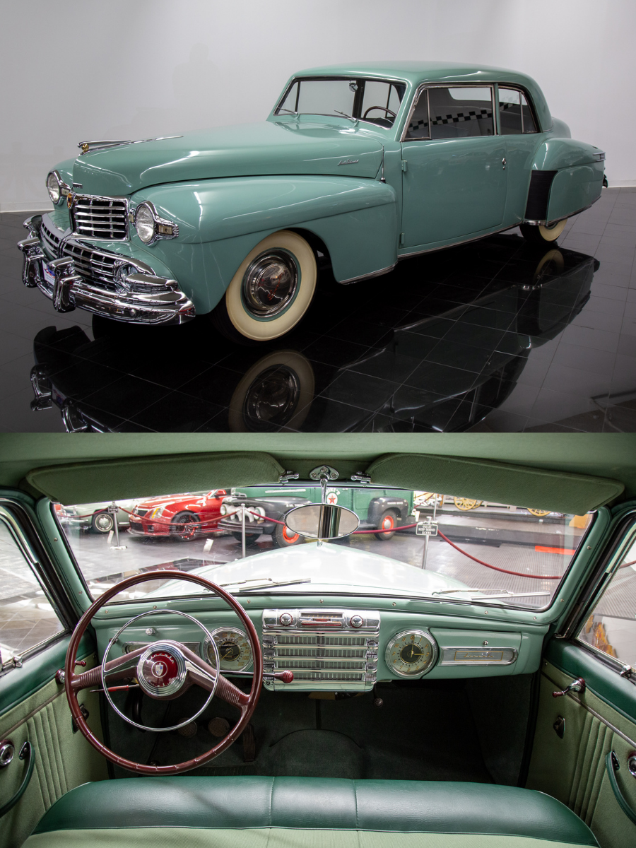 1948 Lincoln Continental sold