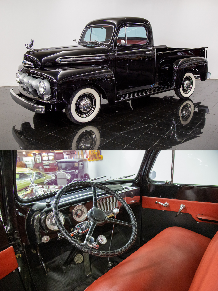 Sold 1951 Ford F1 Pickup