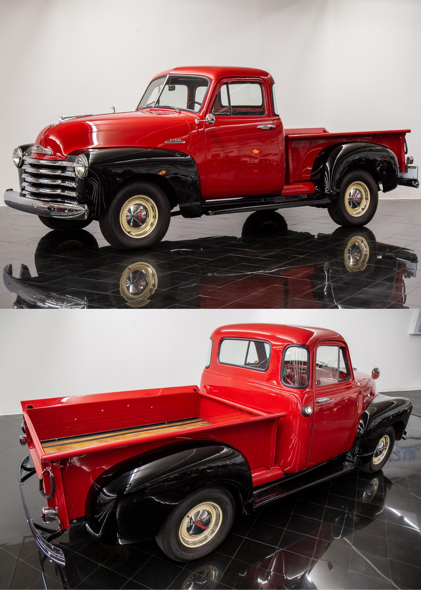 Sold 1953 Chevrolet 3100 5-Window Pickup Truck