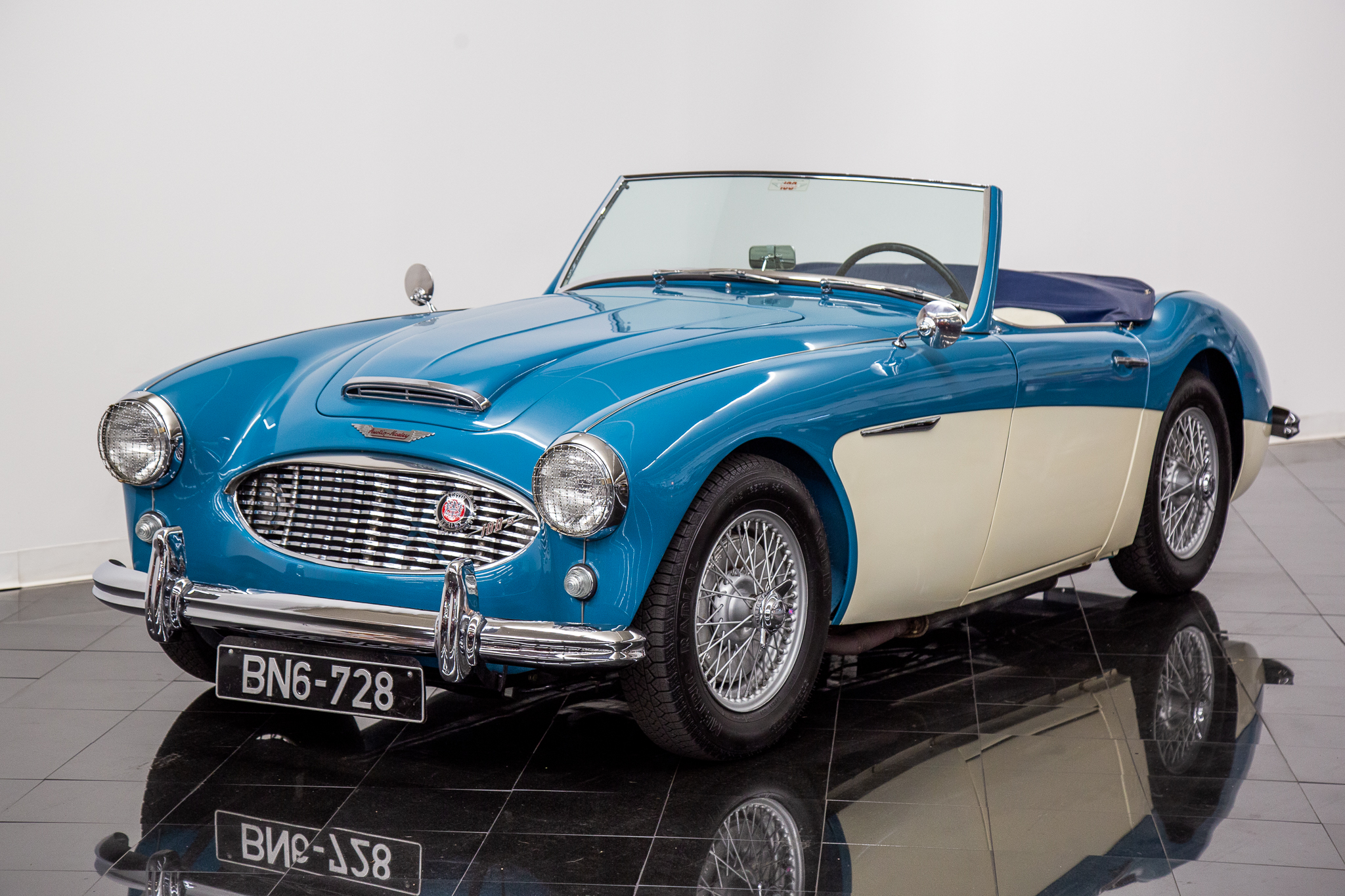 For Sale 11958 Austin Healey 100-6 BN6 2 Seater Roadster