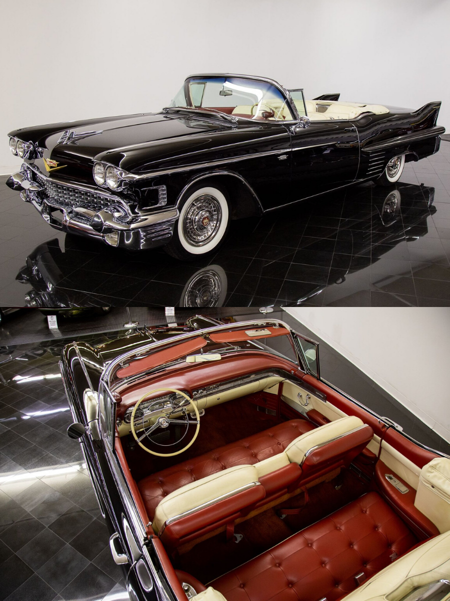 1958 Cadillac Series 62 Convertible Coupe sold