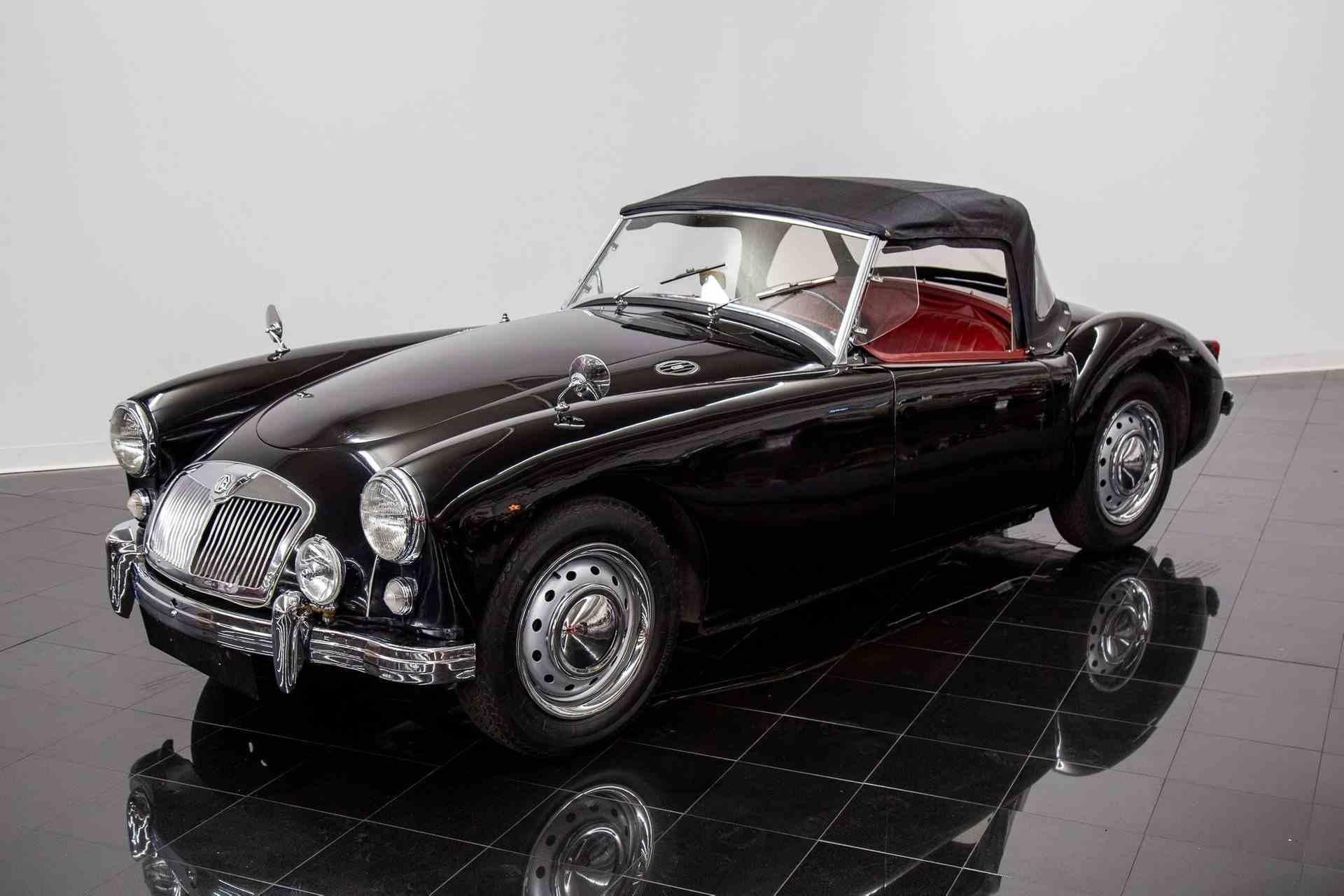 1958 MG MGA sold at the St. Louis Car Museum