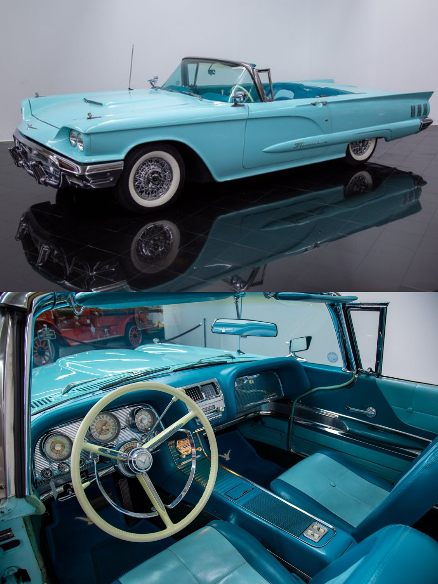 1960 Ford Thunderbird Convertible sold