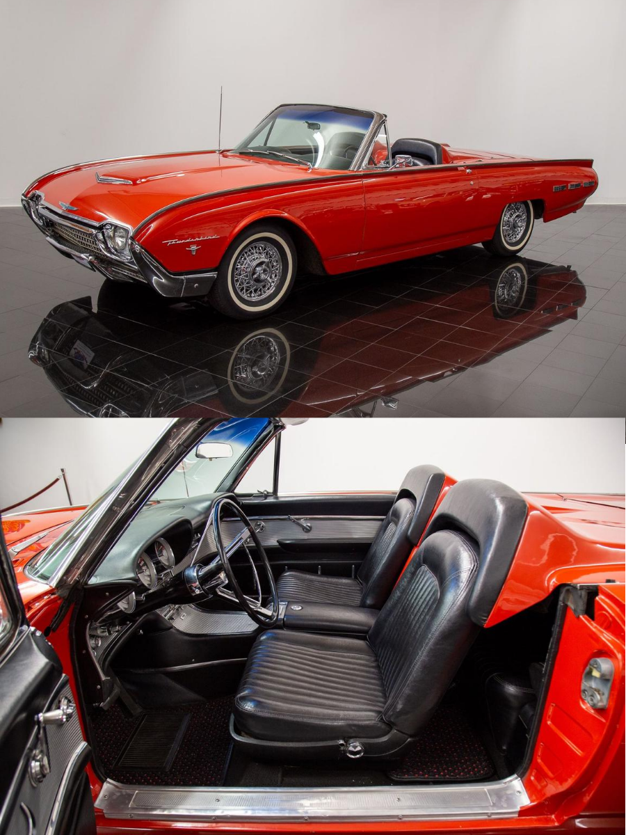 1962 Ford Thunderbird Sports Roadster sold