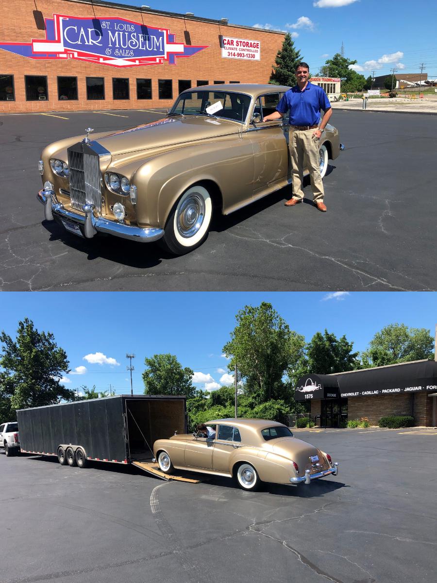 1963 Rolls Royce Silver Cloud III Saloon sold