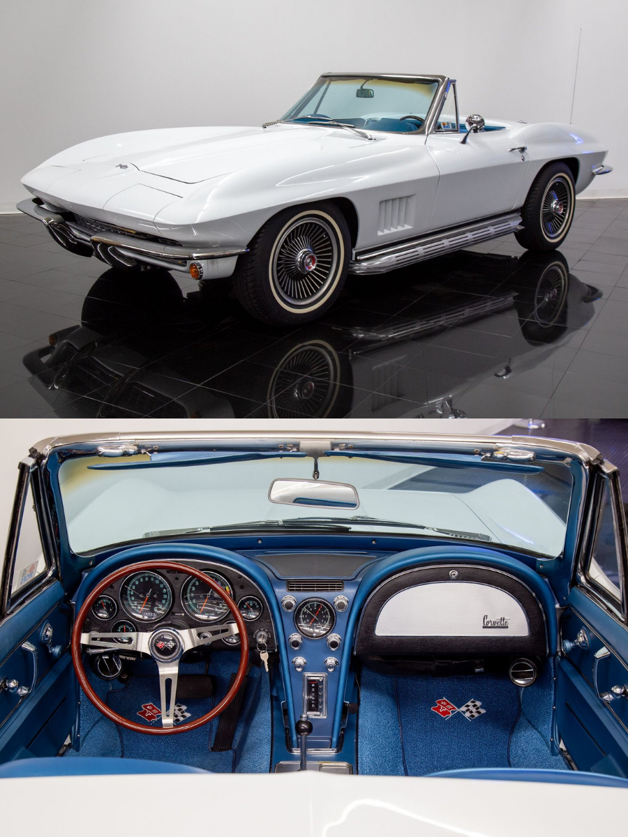 1967 Chevrolet Corvette Convertible sold
