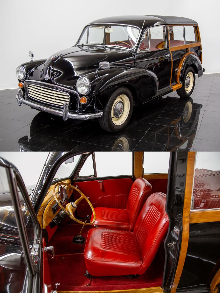 1967 Morris Minor 1000 Traveller sold
