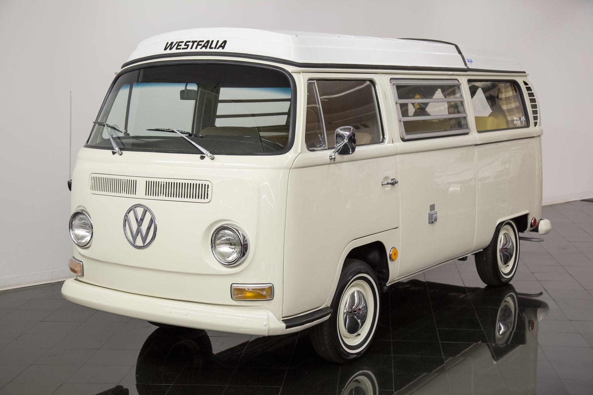 1968 Volkswagen Westfalia Campmobile Van