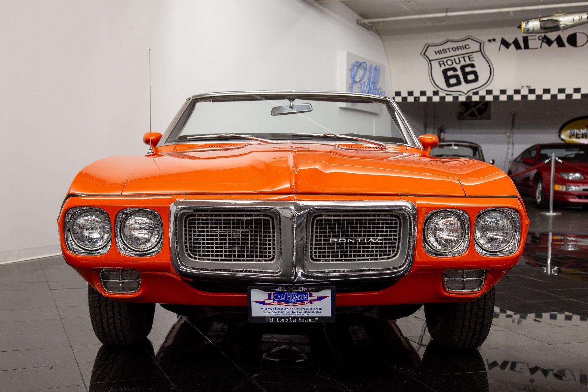 1969 Pontiac Firebird Convertible for sale