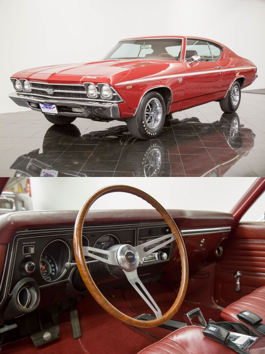 1969 Chevrolet Chevelle SS SS396 Hardtop sold